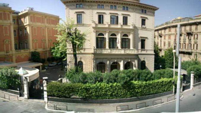 ambasciata giappone