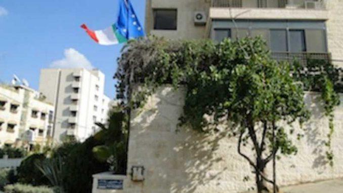 ambasciata italiana in giordania