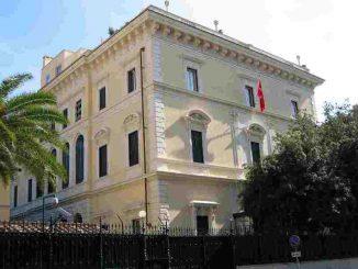 ambasciata turchia